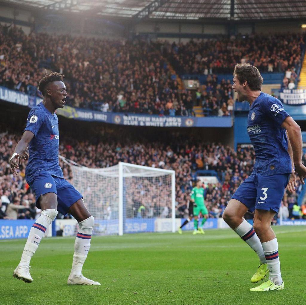 Chelsea Vs Newcastle United: Marcos Alonso Menangkan The Blues