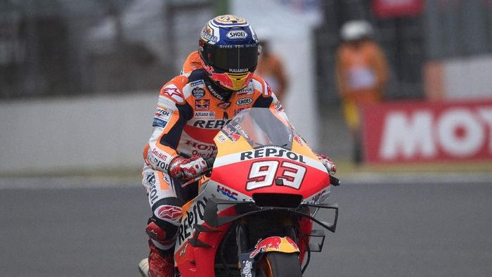 Marc Marquez pole di MotoGP Jepang 2019 (Mirco Lazzari gp/Getty Images)