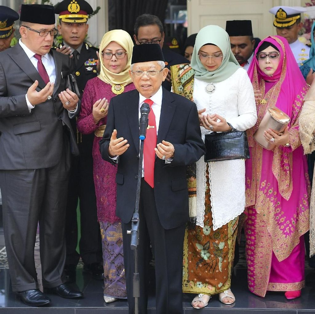 Maruf Amin Gelar Doa Bersama Jelang Pelantikan