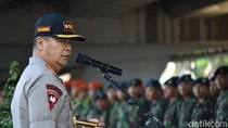Ribuan TNI-Polisi Amankan Makassar di Hari Pelantikan Jokowi