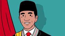 Pelantikan Presiden, Ini Ilustrasi Jokowi-Maaruf Amin dari Hari Prast
