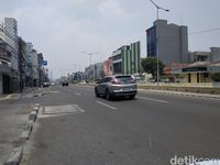 Jelang Pelantikan Presiden, Jalanan Jakarta Lengang