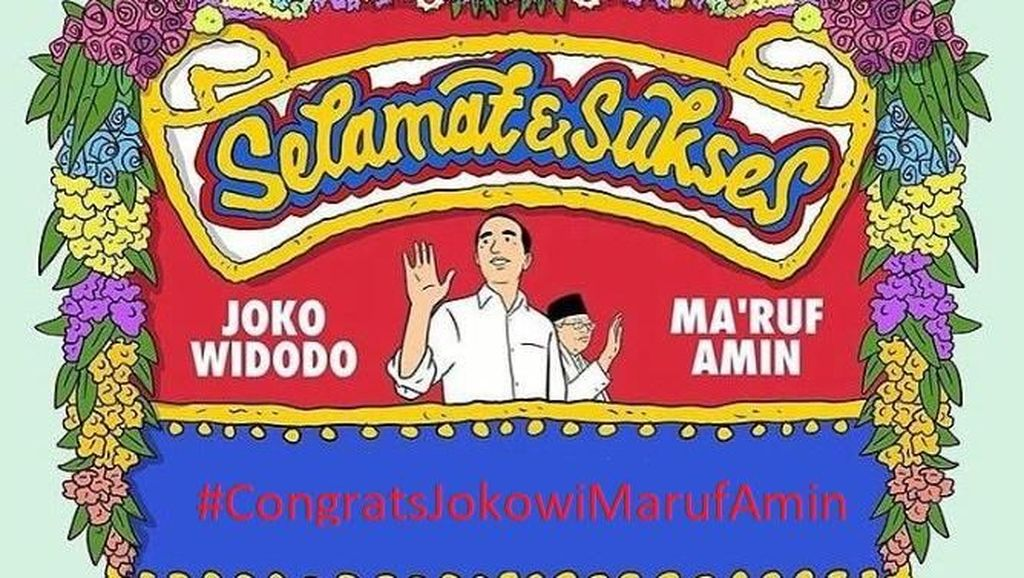 Aneka Meme Pelantikan Jokowi-Maruf Amin, Suka yang Mana?