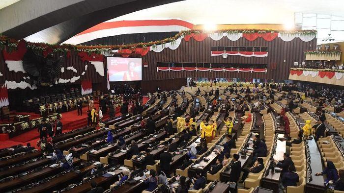Foto: Pelantikan Jokowi (Antara Foto)
