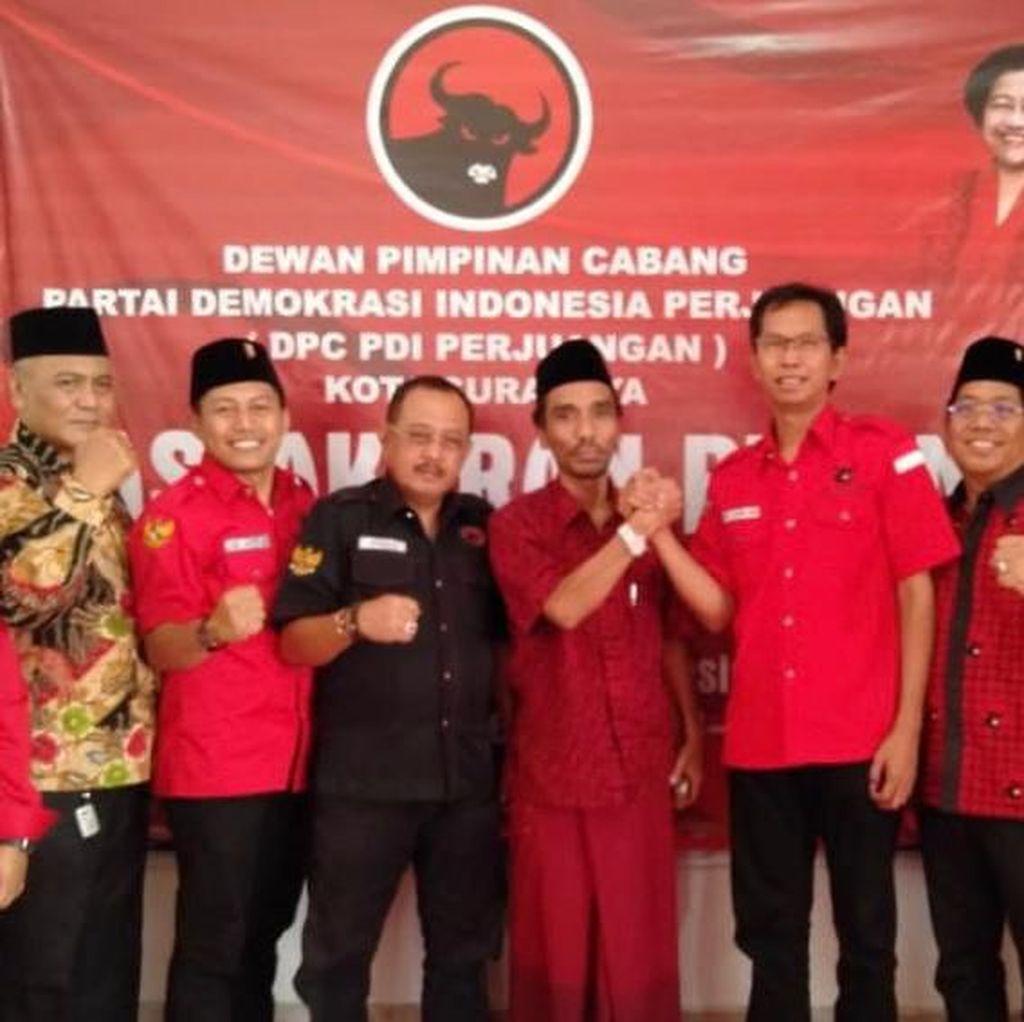 PDIP Surabaya Syukuran Pelantikan Presiden dengan 7 Tumpeng