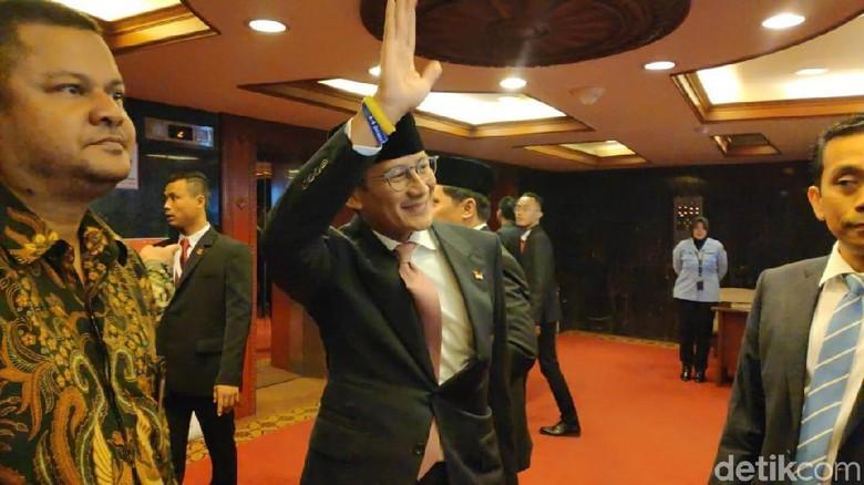 Isu Prabowo Jadi Menhan, Sandi: Pengetahuan Beliau soal Pertahanan Mumpuni