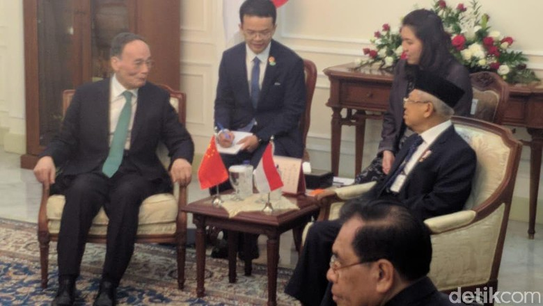 Usai Dilantik, Maruf Amin Terima Wapres China dan Wapres Vietnam