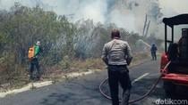 Cegah Kebakaran di Kawah Ijen Meluas, Pembasahan Terus Dilakukan