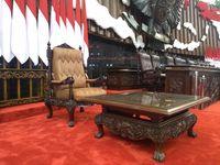 Kursi Spesial Jokowi-Ma'ruf dari Jepara Saat Pelantikan