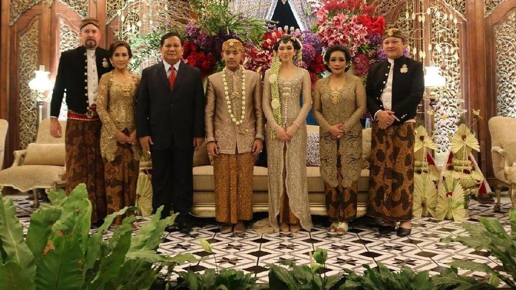 Prabowo hingga Aburizal Bakrie Hadiri Pernikahan Cicit Soeharto