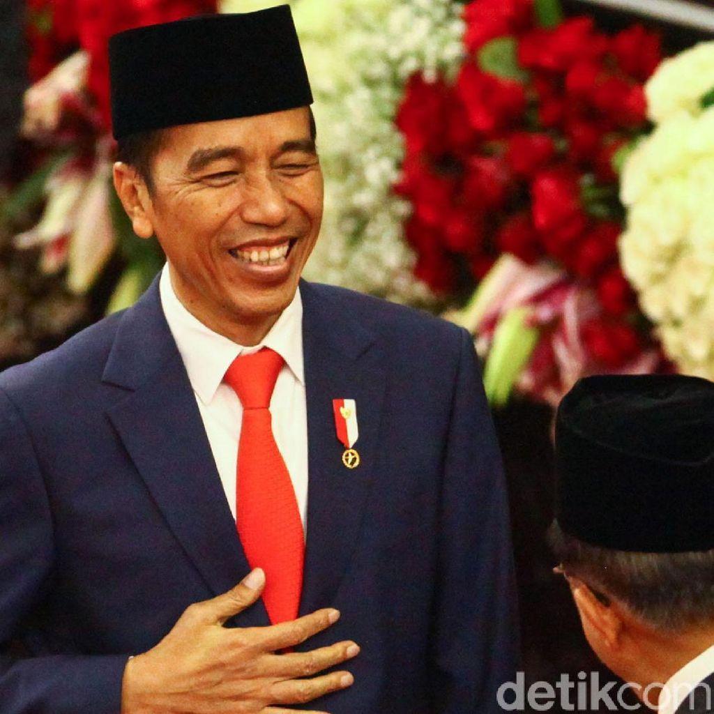 Melihat Lagi Cara Jokowi Umumkan Menteri 5 Tahun Lalu