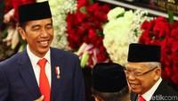 Pelantikan Presiden-Wakil Presiden 2019-2024 dimulai. Joko Widodo dan Maruf Amin akan dilantik dalam sidang paripurna MPR RI.