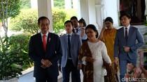 Pelantikan Presiden, Iriana Jokowi Elegan Berkebaya Putih