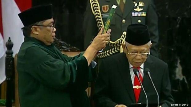 Ini Sumpah yang Diucapkan Jokowi-Ma'ruf Saat Dilantik