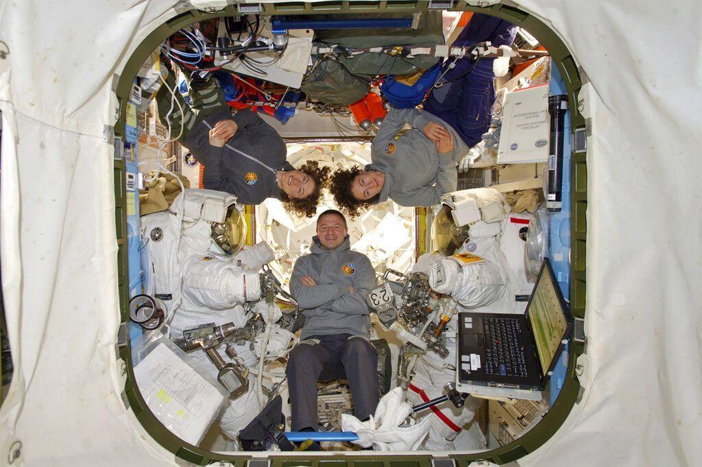 Astronaut Wanita Spacewalk