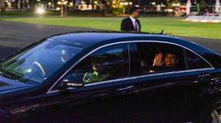 Jokowi Balik ke Istana Usai Dilantik, Disambut Keluarga dari Solo