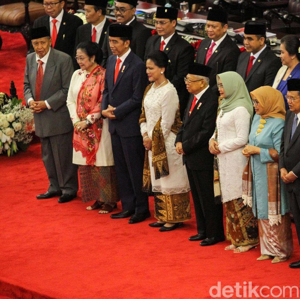 Besok Umumkan Menteri, Jokowi Bertemu Ketum Parpol Malam Ini