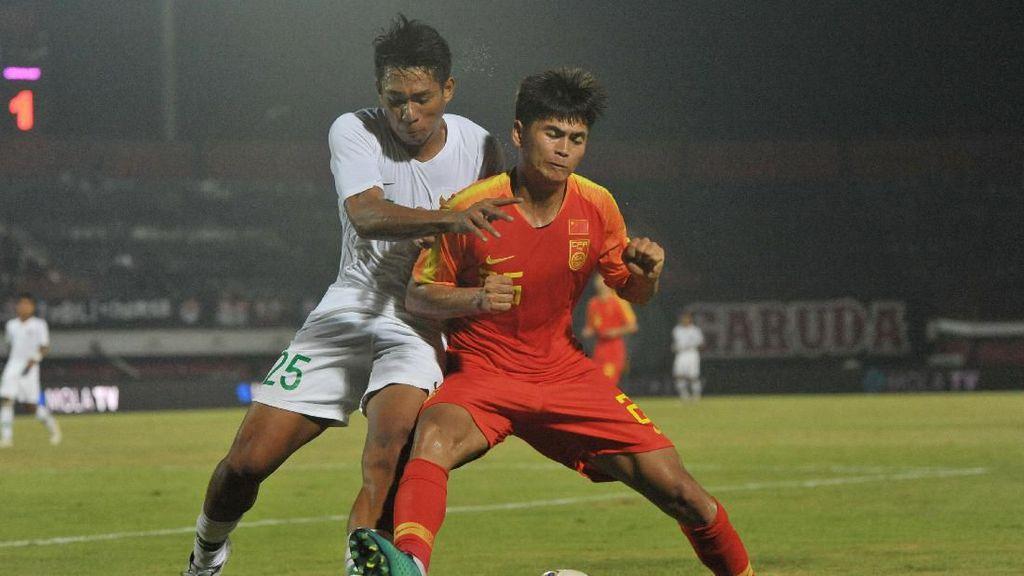 Timnas U-19 Dikalahkan China, Fakhri Kecewa tapi...
