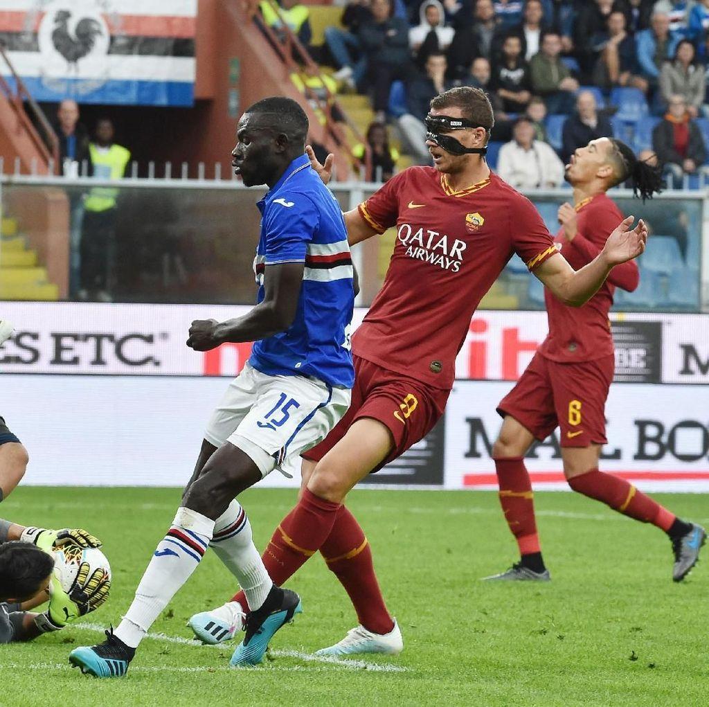 Sampdoria Vs Roma Berakhir Tanpa Gol