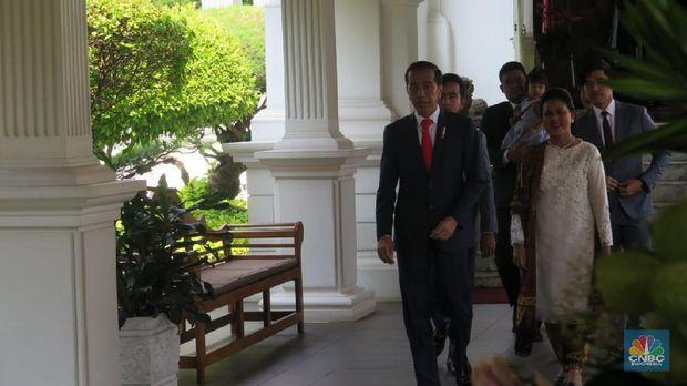 Jokowi: Menteri dari Partai Politik 16 Orang