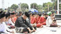 Sebelum Syukuran Pelantikan Presiden, Warga Kebumen Gelar Salat Istiqo