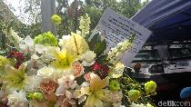 Karangan Bunga dari AHY untuk Maruf Amin