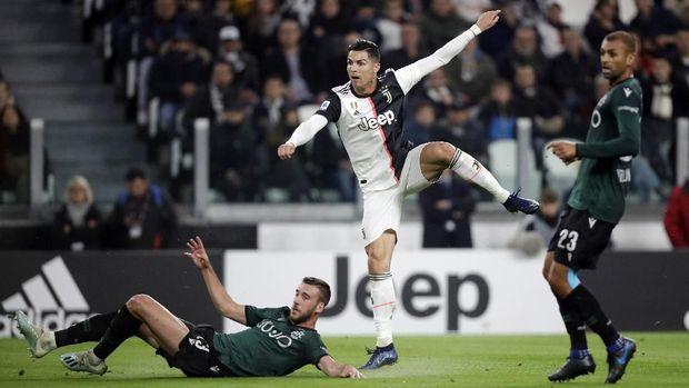 Cristiano Ronaldo bertekad memenangi treble winners bersama Juventus.