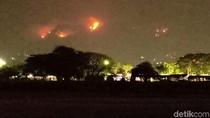 325 Hektare Lereng Gunung Wilis Terbakar, Petugas Terus Berupaya Padamkan