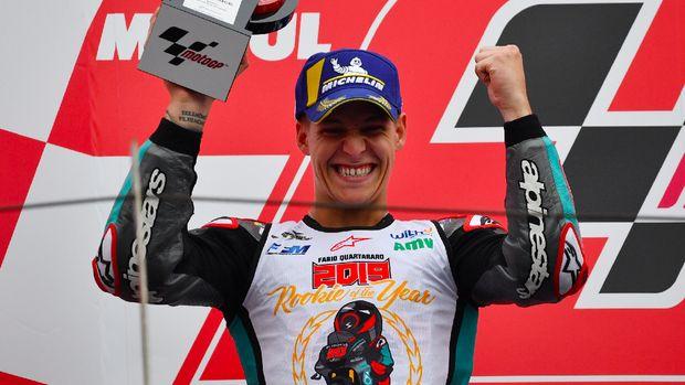 Rossi Dukung Quartararo Jadi Juara MotoGP 2020