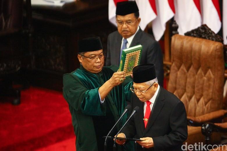 Dari Jepang, Maruf Dukung Kriteria Calon Menteri yang Dipanggil Jokowi