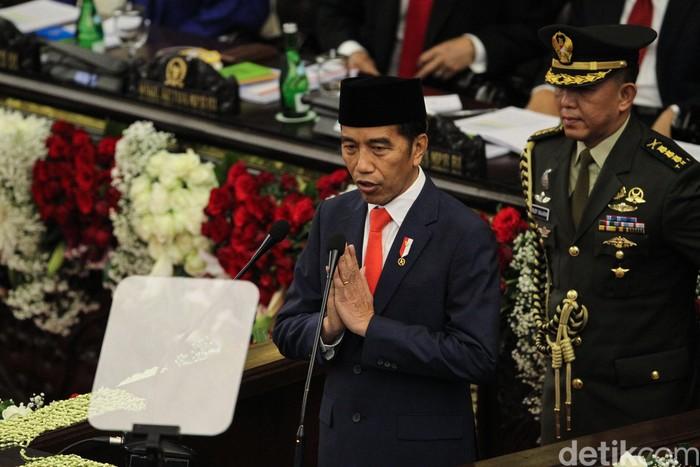 Pelantikan Jokowi (Foto: Rifkianto Nugroho-detikcom)