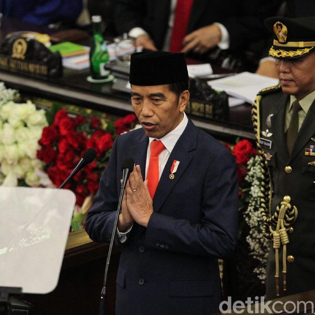 Beda Pidato Jokowi Usai Pelantikan 2014 dan 2019