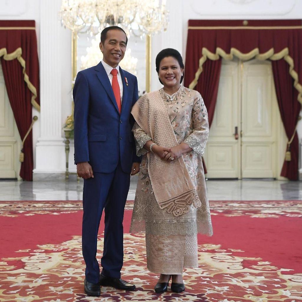 Potret Presiden Jokowi Bersama Ibu Negara Jelang Pelantikan