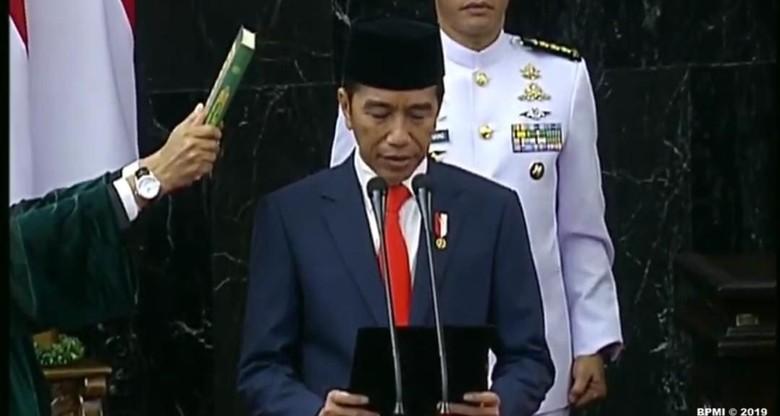 Relawan Usai Bertemu Jokowi: Presiden Tegaskan Gerindra Masuk Koalisi