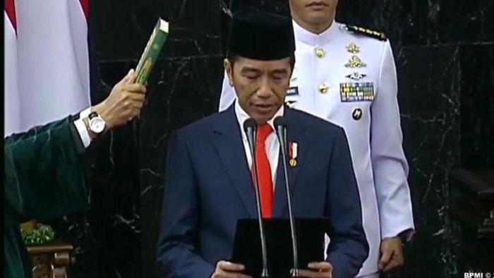 Foto: Pelantikan Jokowi-Maruf (Dok. BPMI)