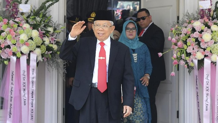 Maruf Amin (Foto: Antara Foto/Nova Wahyudi)