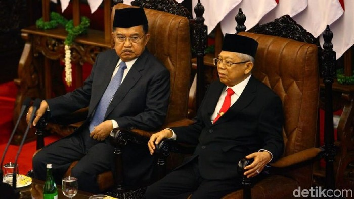 Jusuf Kalla dan Maruf Amin (Foto: Rifkianto Nugroho)