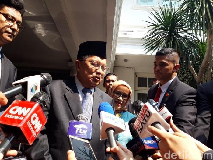 Wapres Jusuf Kalla (Rahel/detikcom)