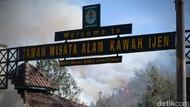 Kebakaran Lalap Enam Gunung di Jatim
