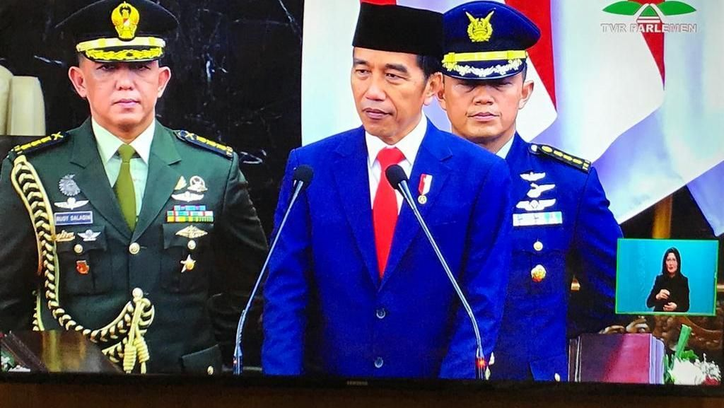 Jokowi Sampaikan Apresiasi Tinggi untuk JK, Bacakan Peribahasa Bugis