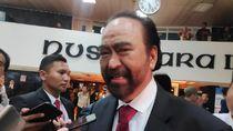 Surya Paloh Ngaku Belum Diajak Bicara Kabinet: Mungkin Presiden Sibuk