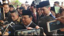 Semobil, Prabowo-Sandi Hadiri Pelantikan Jokowi