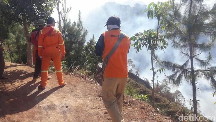 Kebakaran di Gunung Argopuro/Foto: Ghazali Dasuqi