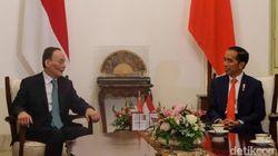 Jokowi Terima Wapres China Usai Dilantik, 3 Menteri Jilid I Masih Dampingi