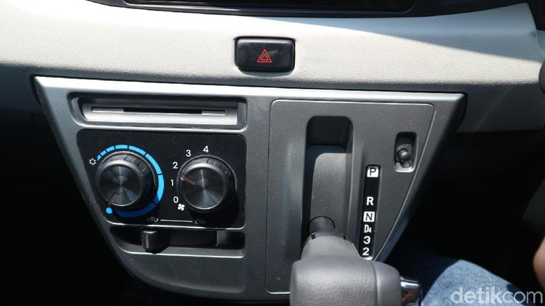 Transmisi mobil matic Daihatsu Sigra Foto: Dadan Kuswaraharja