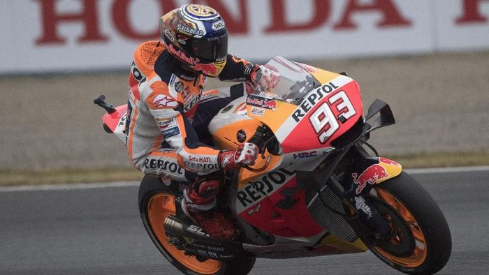Marc Marquez juara MotoGP Jepang (Foto: Mirco Lazzari gp/Getty Images)