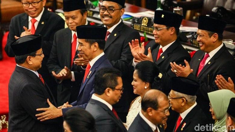 Gerindra: Jokowi Undang Prabowo ke Istana