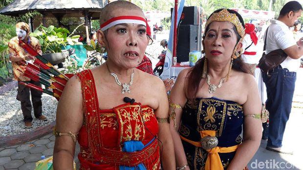 Syukuran pelantikan Jokowi-Ma'ruf di Solo.