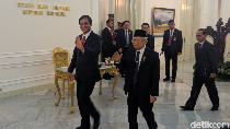 Terima 3 Pimpinan Negara, Maruf Amin: Mereka Ingin Berkenalan
