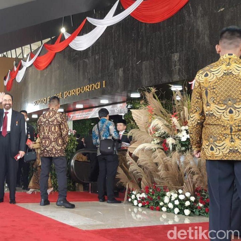 Tamu-tamu Pelantikan Presiden Mulai Berdatangan ke Kompleks Parlemen